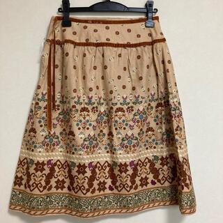プーラフリーム(pour la frime)のスカート(ひざ丈スカート)