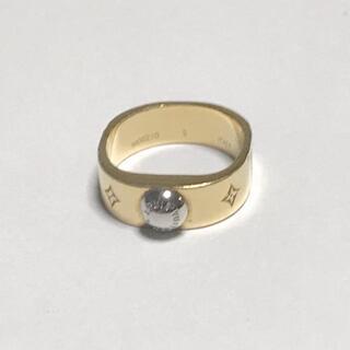 ルイヴィトン(LOUIS VUITTON)のルイヴィトン 2x0.5cm リングナノグラム(リング(指輪))