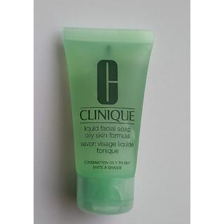 クリニーク(CLINIQUE)のCLINIQUE ジェル状洗顔料(洗顔料)