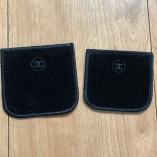 シャネル(CHANEL)のCHANEL シャネル アイシャドウ 布袋 ベロア 2つ 新品未使用品(その他)