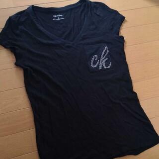 カルバンクライン(Calvin Klein)のカルバン・クラインS 1400⏩1299円(Tシャツ(半袖/袖なし))