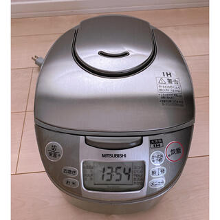 三菱 - MITSUBISHI NJ-KH10-S IH 炊飯器 5.5合 遠赤外線