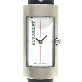 バーバリー(BURBERRY)のバーバリー - 14400L レディース 白(腕時計)