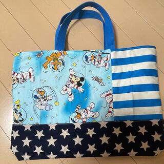 ディズニー(Disney)のディズニーレッスンバック レッスンバック お手提げ袋(バッグ/レッスンバッグ)