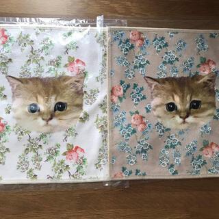 PAUL & JOE - 【新品】ポール&ジョー ハンカチ 2枚 ヌネット 猫 ネコ