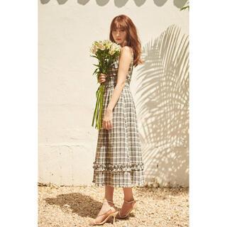 Summer Tweed Midi Dress herlipto (ロングワンピース/マキシワンピース)