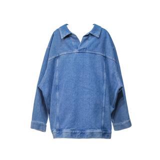 バレンシアガ(Balenciaga)のBALENCIAGA 21ss VAREUSE ブルー ジャケット デニム 38(Gジャン/デニムジャケット)