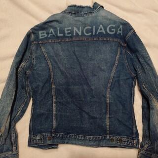 Balenciaga - 【お値下げ】バレンシアガBALENCIAGAGジャンデニムインディゴジャケット