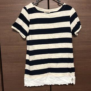 サマンサモスモス(SM2)のボーダー Tシャツ(Tシャツ(半袖/袖なし))