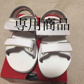 プーマ(PUMA)のPUMA プーマ サンダル 16cm  ホワイト(サンダル)