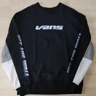 ヴァンズ(VANS)の【美品】VANS スエット メンズSサイズ(スウェット)