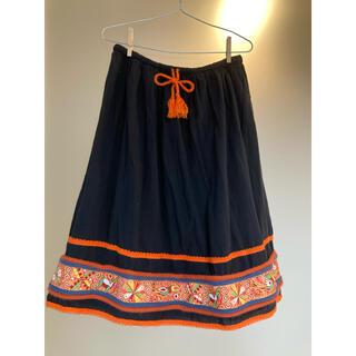 チチカカ(titicaca)のTITICACAチチカカ 刺繍スカート(ひざ丈スカート)