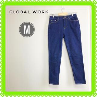 グローバルワーク(GLOBAL WORK)の【美品】グローバルワーク スリムフィット ジーンズ Mサイズ(デニム/ジーンズ)