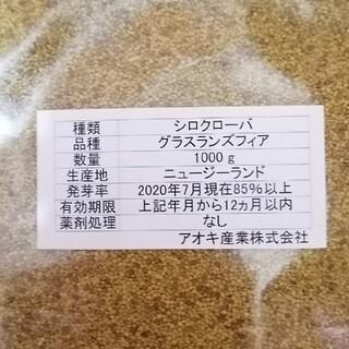 白クローバー種(700g)(その他)