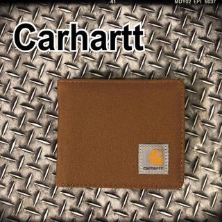 カーハート(carhartt)の【新品未使用】Carhartt カーハート 財布 茶色 キャメル  二つ折り(折り財布)