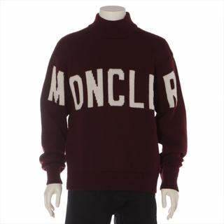 モンクレール(MONCLER)のモンクレール  ウール XL ボルドー メンズ ニット(ニット/セーター)