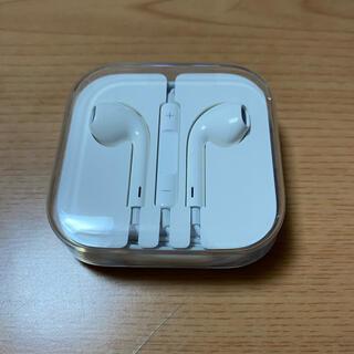 アップル(Apple)のiPhone 付属 イヤホン 純正品(ヘッドフォン/イヤフォン)