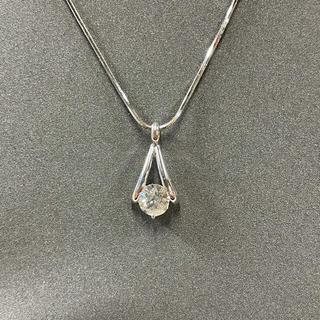 pt900/850 ダイヤモンドネックレス 1ct(ネックレス)