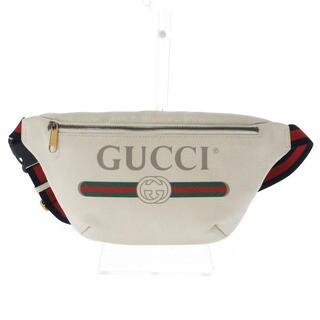 グッチ(Gucci)のグッチ グッチプリント 530412 レザー(ボディバッグ/ウエストポーチ)