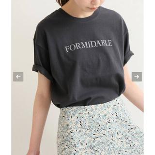 イエナ(IENA)のIENA ロゴプリントTシャツ(Tシャツ(半袖/袖なし))