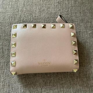 ヴァレンティノ(VALENTINO)のValentino ヴァレンティノ ロックスタッズ 二つ折り 財布(財布)