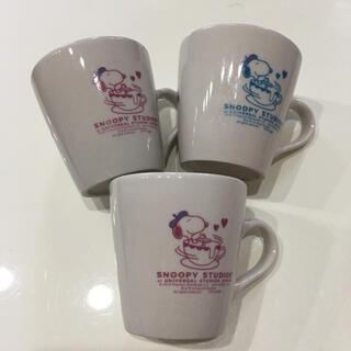 スヌーピー(SNOOPY)のニッセイ 非売品 ペアマグカップ スヌーピー SNOOPY ミニマグカップ(マグカップ)