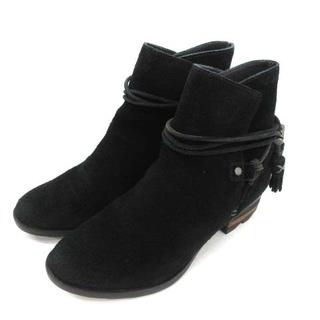 ソレル(SOREL)のファラー ソレル ショートブーツ スエード 7 24cm 黒(ブーツ)