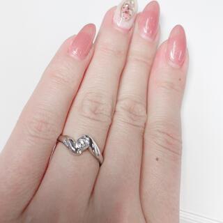 ダイヤモンドリング pt850(リング(指輪))