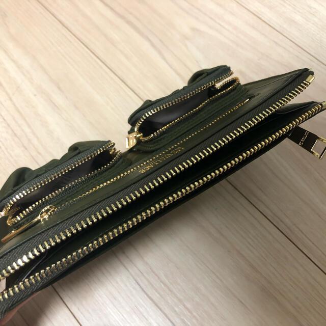 MZ WALLACE(エムジーウォレス)の【MZ WALLACE】財布/カーキ色 レディースのファッション小物(財布)の商品写真