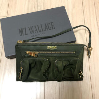 エムジーウォレス(MZ WALLACE)の【MZ WALLACE】財布/カーキ色(財布)