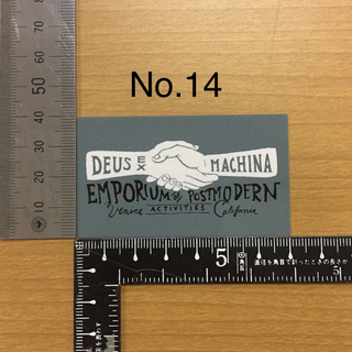 デウスエクスマキナ(Deus ex Machina)のデウス エクス マキナ Deus Ex Machina ステッカー 14(装備/装具)