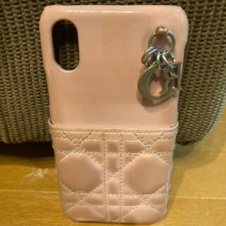 クリスチャンディオール(Christian Dior)のChristian Dior iPhoneケース くすみピンク(iPhoneケース)