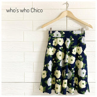 フーズフーチコ(who's who Chico)の【早い者勝ち♡】whos who Chico フーズフーチコ フレアスカート(ひざ丈スカート)