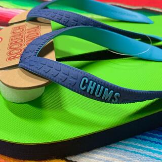 チャムス(CHUMS)の新品 CHUMS ビーチサンダル チャムス lm(ビーチサンダル)
