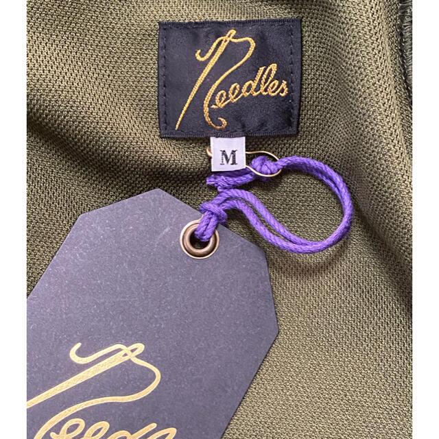 Needles(ニードルス)のNeedles Track Jacket 20aw Olive メンズのトップス(ジャージ)の商品写真