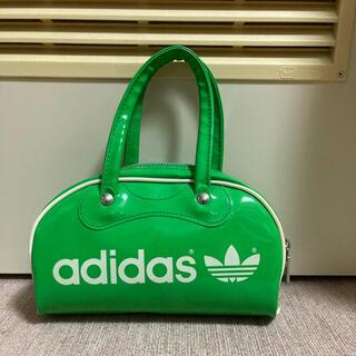 アディダス(adidas)の【80s〜90s adidas】アディダス エナメル ミニ ボストンバッグ(ボストンバッグ)
