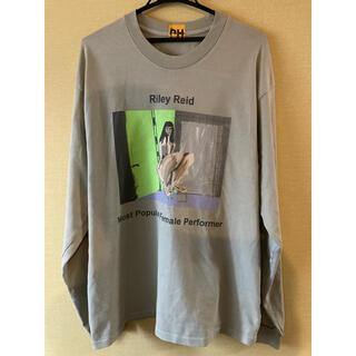 adidas - YEEZY Long Sleeve t shirt Riley Reid