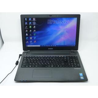 エプソン(EPSON)のEPSONノートパソコンNJ3900E Office2019 SSD240GB(ノートPC)