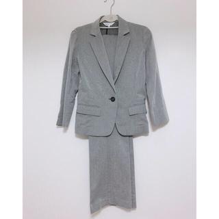 アオキ(AOKI)の週末値下げ❣️Honeys スーツ ジャケット パンツ リクルート グレー(スーツ)