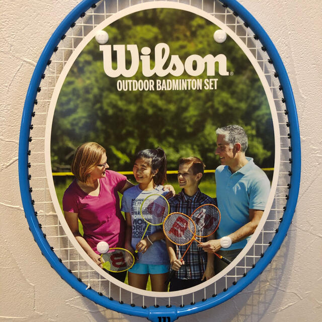 wilson(ウィルソン)のWilson バドミントンラケット2本セット スポーツ/アウトドアのスポーツ/アウトドア その他(バドミントン)の商品写真