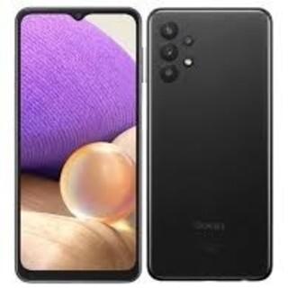 サムスン(SAMSUNG)の《SIMフリー》Galaxy a32 ブラック  新品未開封(携帯電話本体)