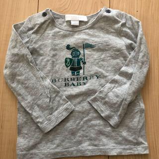 バーバリー(BURBERRY)のバーバリー ベビー 長袖 Tシャツ 12M(シャツ/カットソー)
