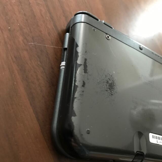 ニンテンドー3DS(ニンテンドー3DS)のNewニンテンドー3DS LL メタリックブラック エンタメ/ホビーのゲームソフト/ゲーム機本体(家庭用ゲーム機本体)の商品写真
