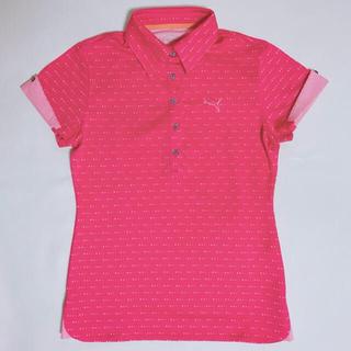プーマ(PUMA)の【PUMA】ピンクポロシャツ・スポーツウェア(ポロシャツ)
