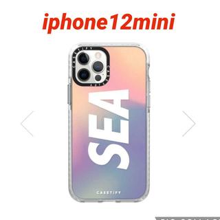 CASETIFY × WIND AND SEA iPhone12miniケース(iPhoneケース)