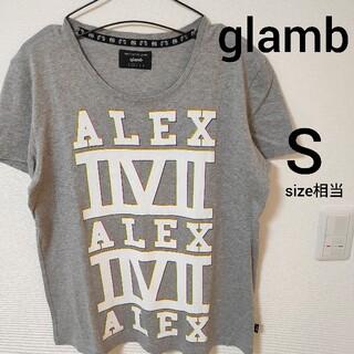グラム(glamb)の美品 グレー glamb 半袖Tシャツ カットソー メンズ size1 即日対応(Tシャツ/カットソー(半袖/袖なし))