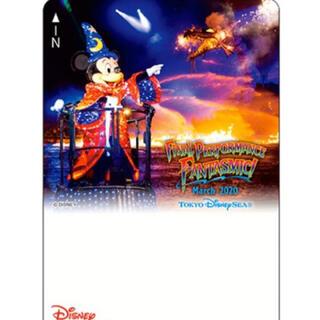ディズニー(Disney)のディズニーリゾートライン フリーきっぷ ファンタズミック!  使用済(鉄道乗車券)