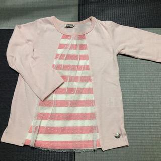 エフオーキッズ(F.O.KIDS)のF.O.KIDS 長袖 110cm 女の子(Tシャツ/カットソー)