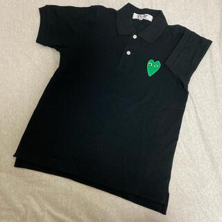 コムデギャルソン(COMME des GARCONS)の●chiri様専用●Garcons コムデギャルソン ポロシャツ ブラック(ポロシャツ)