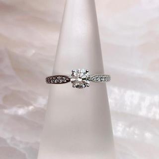 ティファニー(Tiffany & Co.)の★Tiffany&Co.★ ハーモニー ハーフサークル 婚約指輪(リング(指輪))